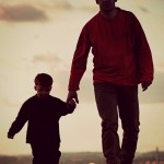 father-son-walking