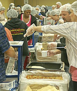 Overcomers Give Back @ Feed My Starving Children | Coon Rapids | Minnesota | United States